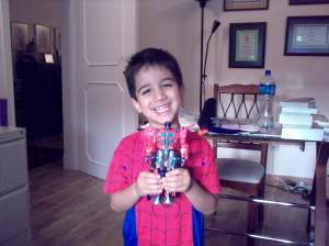 Laith With Optimus