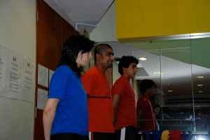 Alaa Al-Alawai, Vinod Joseph and Fahad Algosaibi