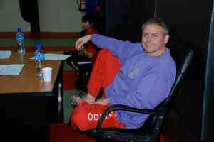 Master Rafael Nieto smiling