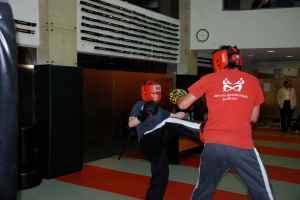 Thomas kicking Fahad