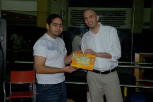 Me with DBC Circuit Advisor Ahmed Fardan during our Big Bang Event.