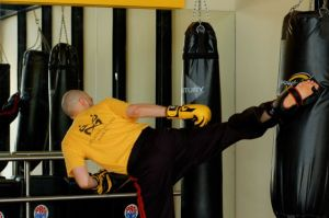 Knowing how to kick box can change your life.